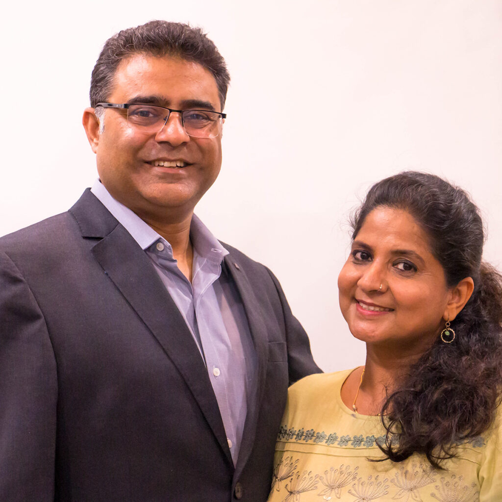 Pastor Randeep and Pastor Anushree